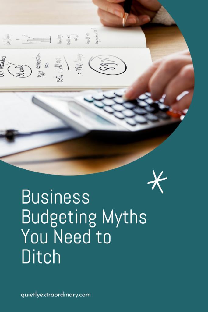 Business Budgeting